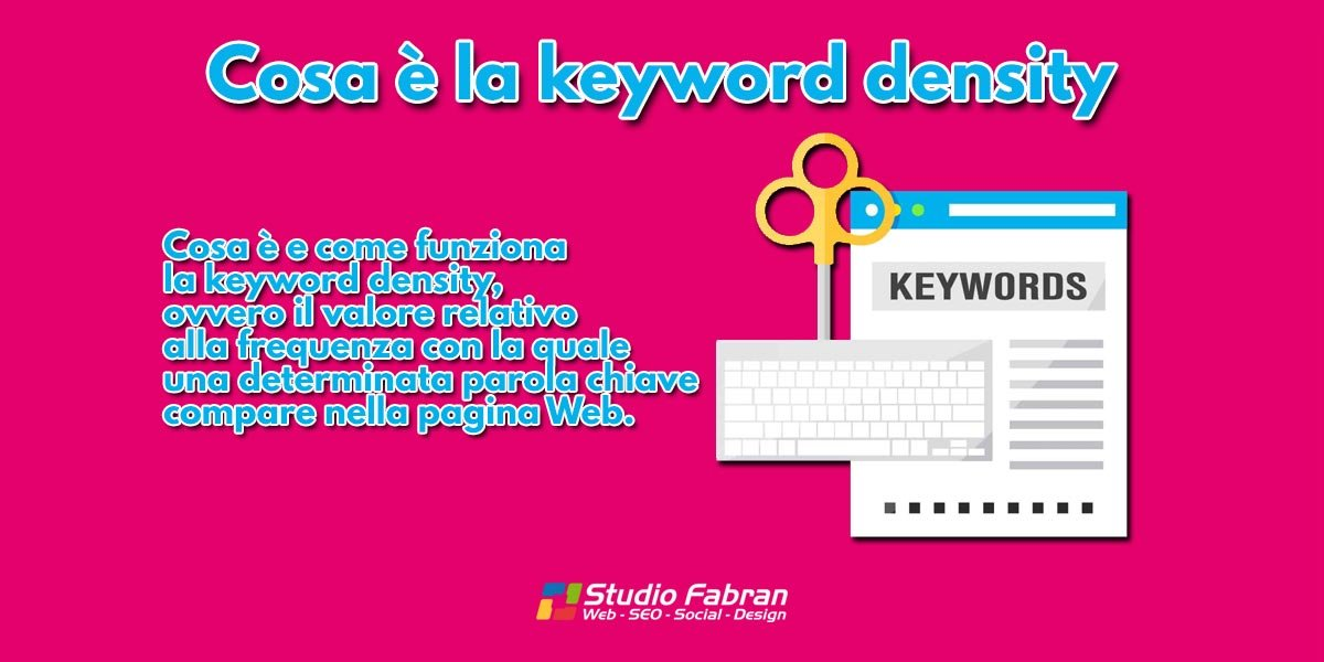 Cosa è la keyword density