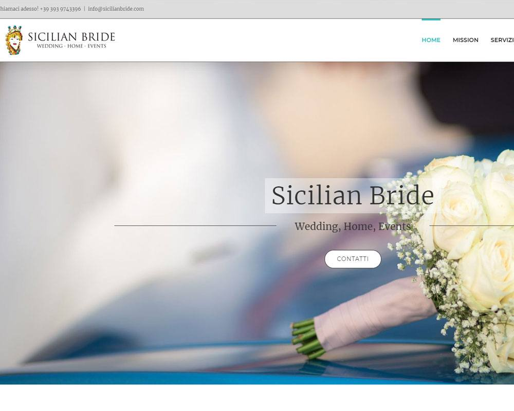 Sicilian Bride - Wedding, Home, Events