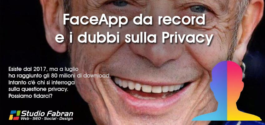 FaceApp da record e i dubbi sulla privacy