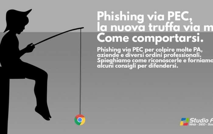 Phishing via PEC. Alcuni consigli per difendersi.